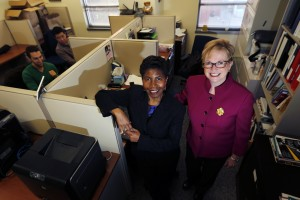 From left, Consultants 2 Go co-owners Sandi Webster, a Fox School Executive DBA student, and Peggy McHale provide marketing and analytic consulting solutions for companies in a variety of industries. (Associated Press)