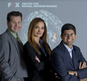 Photo of Dr. Paul A. Pavlou, Dr. Angelika Dimoka and Dr. Vinod Venkatraman