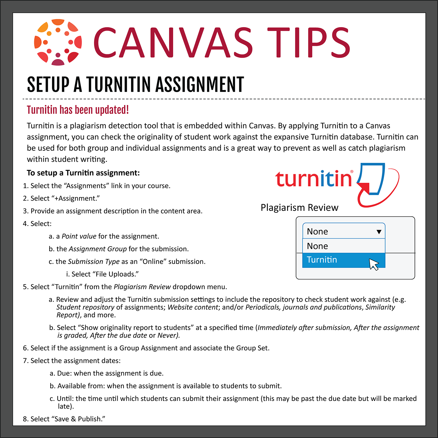 Canvas Tips | Fox School of Business | Temple University