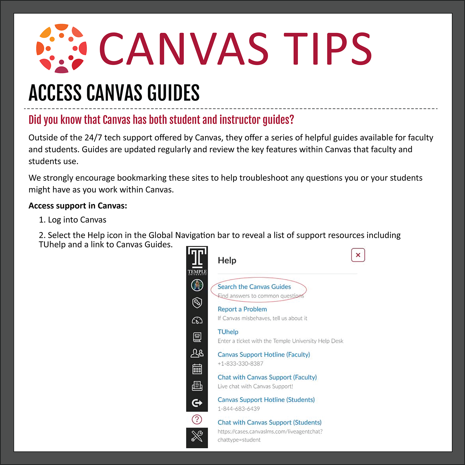 Tip 33: Access Canvas Guides