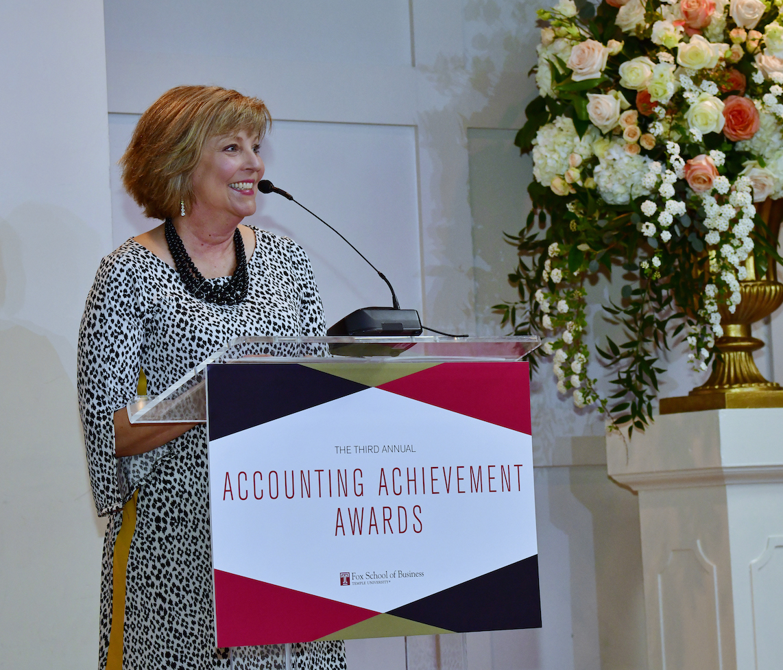Accounting Achievement Awards | Fox School of Business