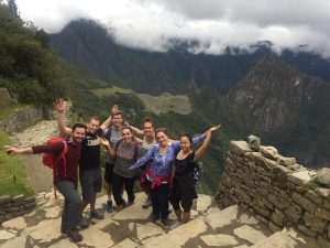 Photo of students on Global Immersion trip