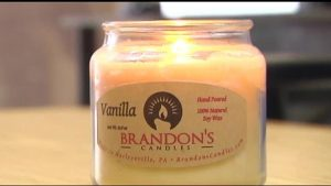 Brandon's Candles product example
