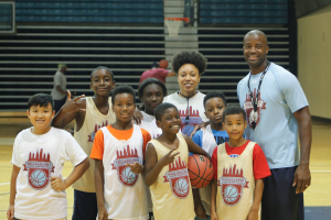Philadelphia Youth Basketball team