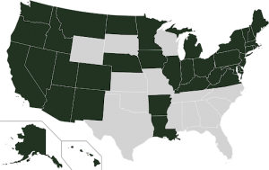 States with Medicaid Expansion
