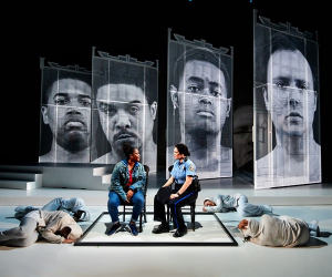 "Photo from opera ""We Shall Not Be Moved"""